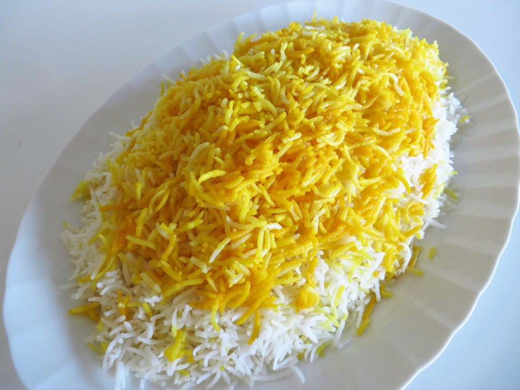 how to cook rice iranian style