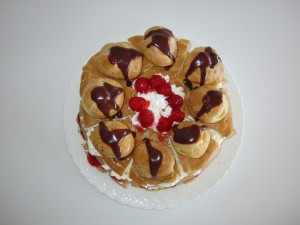Pate a Choux – Delux St. Honore Cake   Fae's Twist & Tango