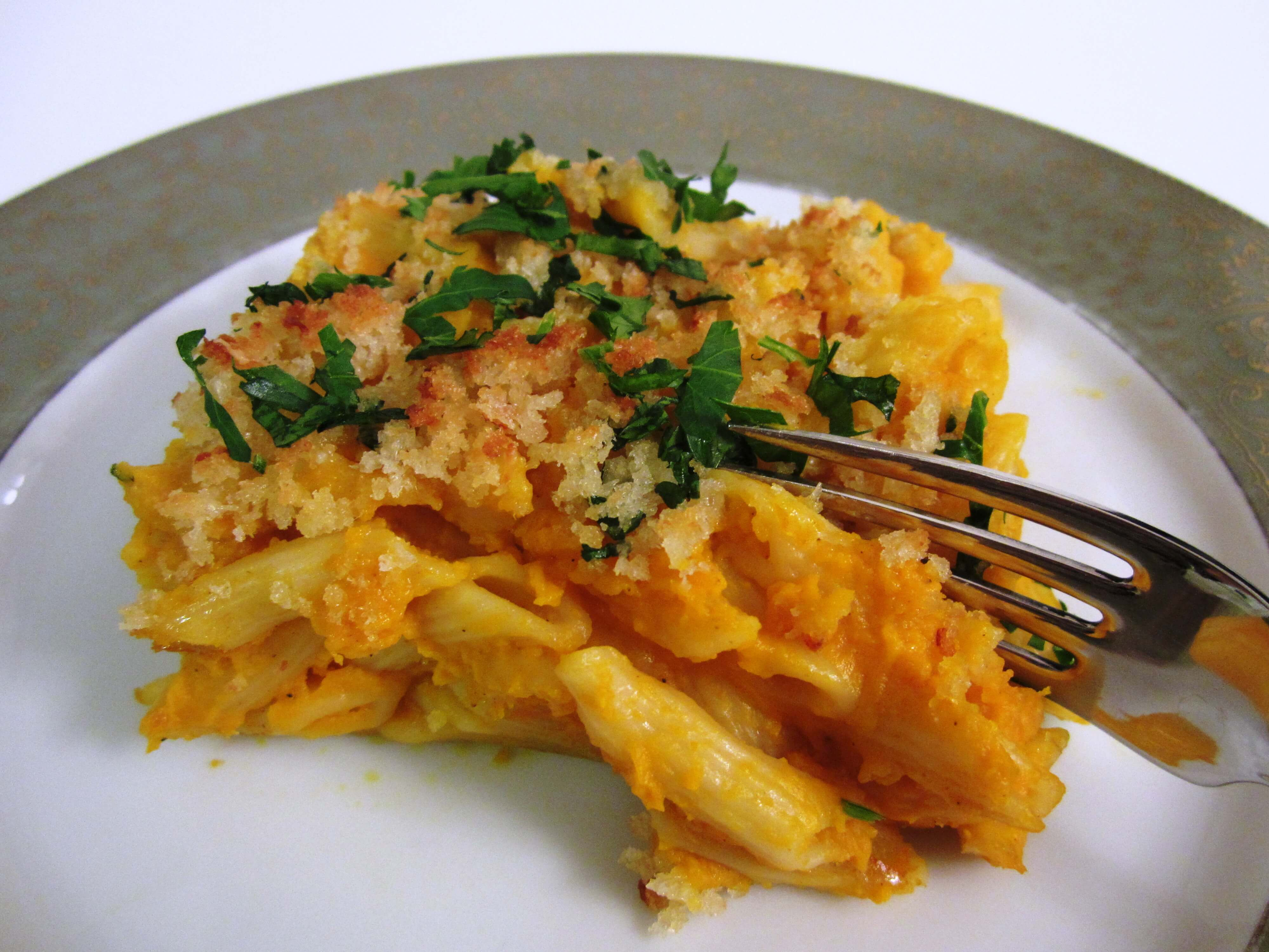 great substitute for macaroni-and-cheese, 'butternut squash penne ...