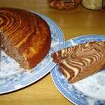 July 18, 2013 I decided to take the challenge and try to make the Zebra Cake... Check out step-by-step process on > 'A Zebra-twist'! ~~ Now At Home!