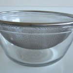 Strainer on Bowl