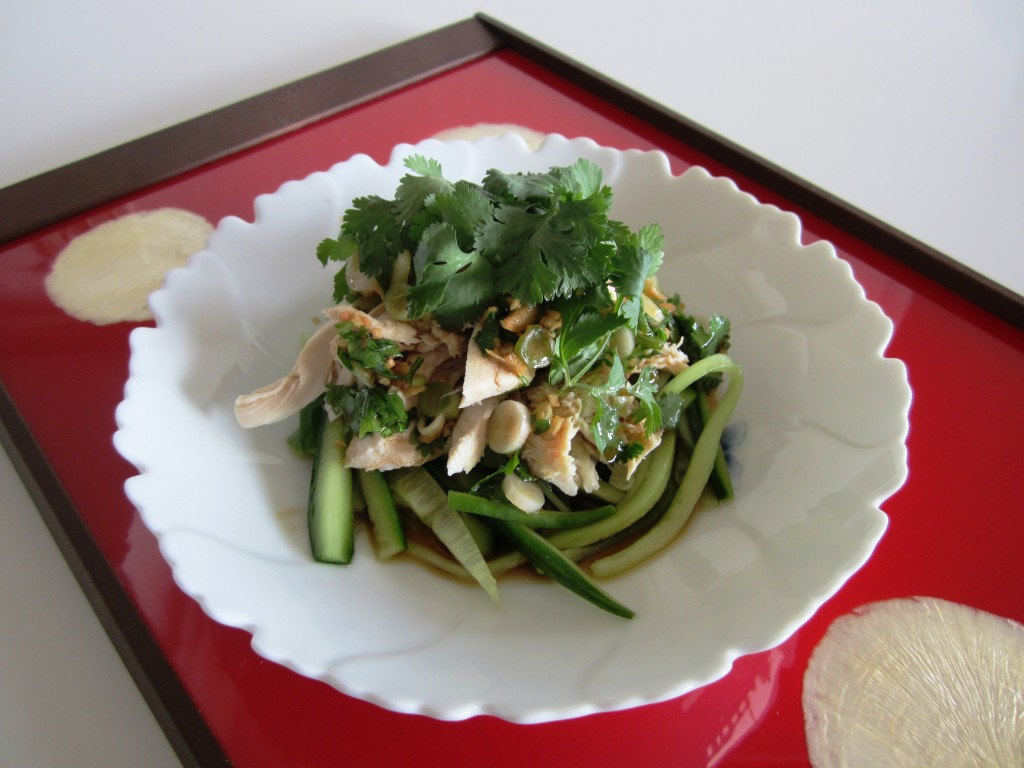 Chicken and Cucumber Salad (Japan)