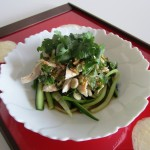 Chicken and Cucumber Salad(Japan)