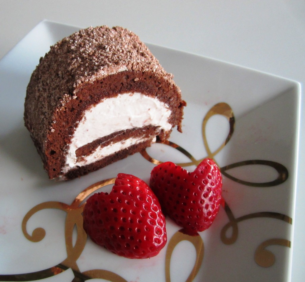 Swiss Roll Jelly Roll Roulade | Fae's Twist & Tango