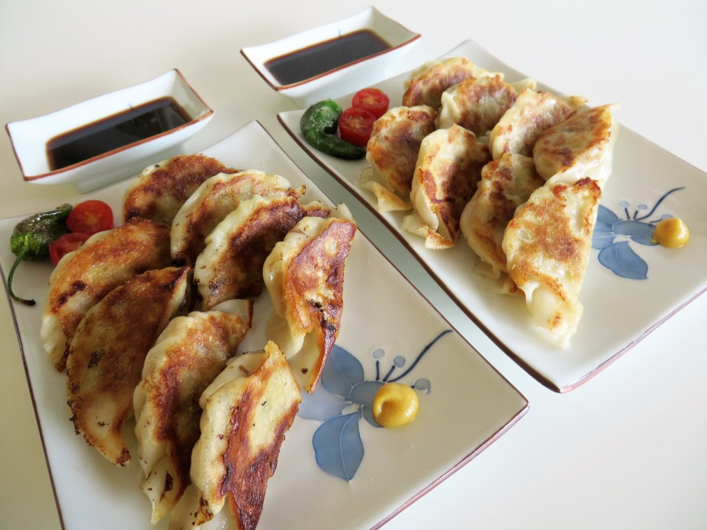 Yaki Gyoza •  やきギョーザ • Pot Stickers Japanese Style | Fae's Twist & Tango