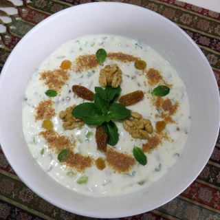 Mast'o Khiyar •  ماست و خیار   • Yogurt with Cucumber
