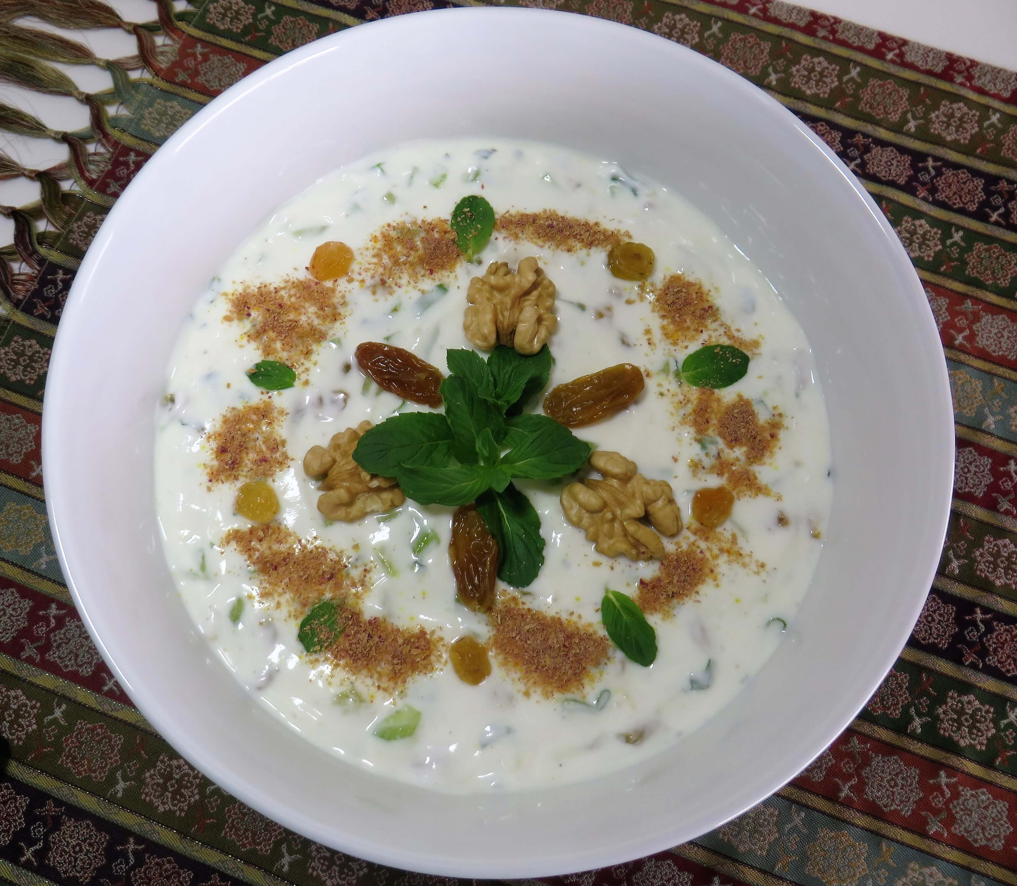 Mast'o Khiyar • ماست و خیار • Yogurt with Cucumber | Fae's Twist & Tango (fae-magazine.com)