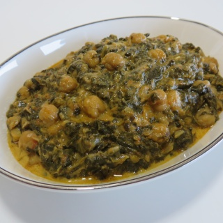 Chana Saag – Indian Spinach & Chickpea Curry