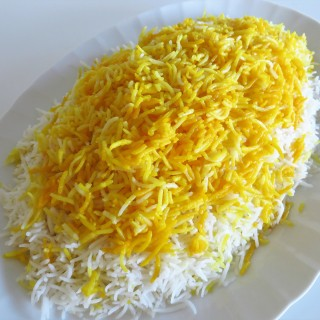 Polo Sefid  •  پلوسفید   •   Persian Plain Rice & Tah-dig