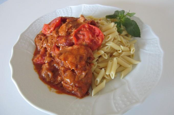 Chicken Paprikash Fae's Twist & Tango