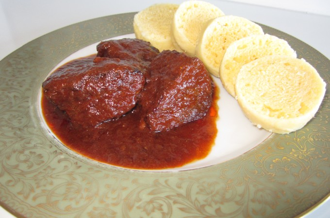 Goulash and Bread Dumplings | Fae's Twist & Tango