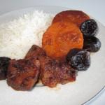Khoresh'e Kadu Halvai  • خورش کدو حلوای   •  Butternut Squash Stew | Fae's Twist & Tango