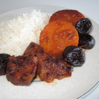 Khoresh'e Kadu Halvai  • خورش کدو حلوای   •  Butternut Squash Stew
