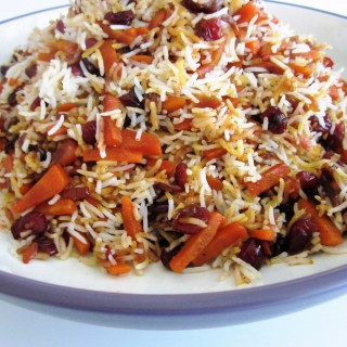 Polo – Havij Polo •  هویج پلو    •   Carrot Rice