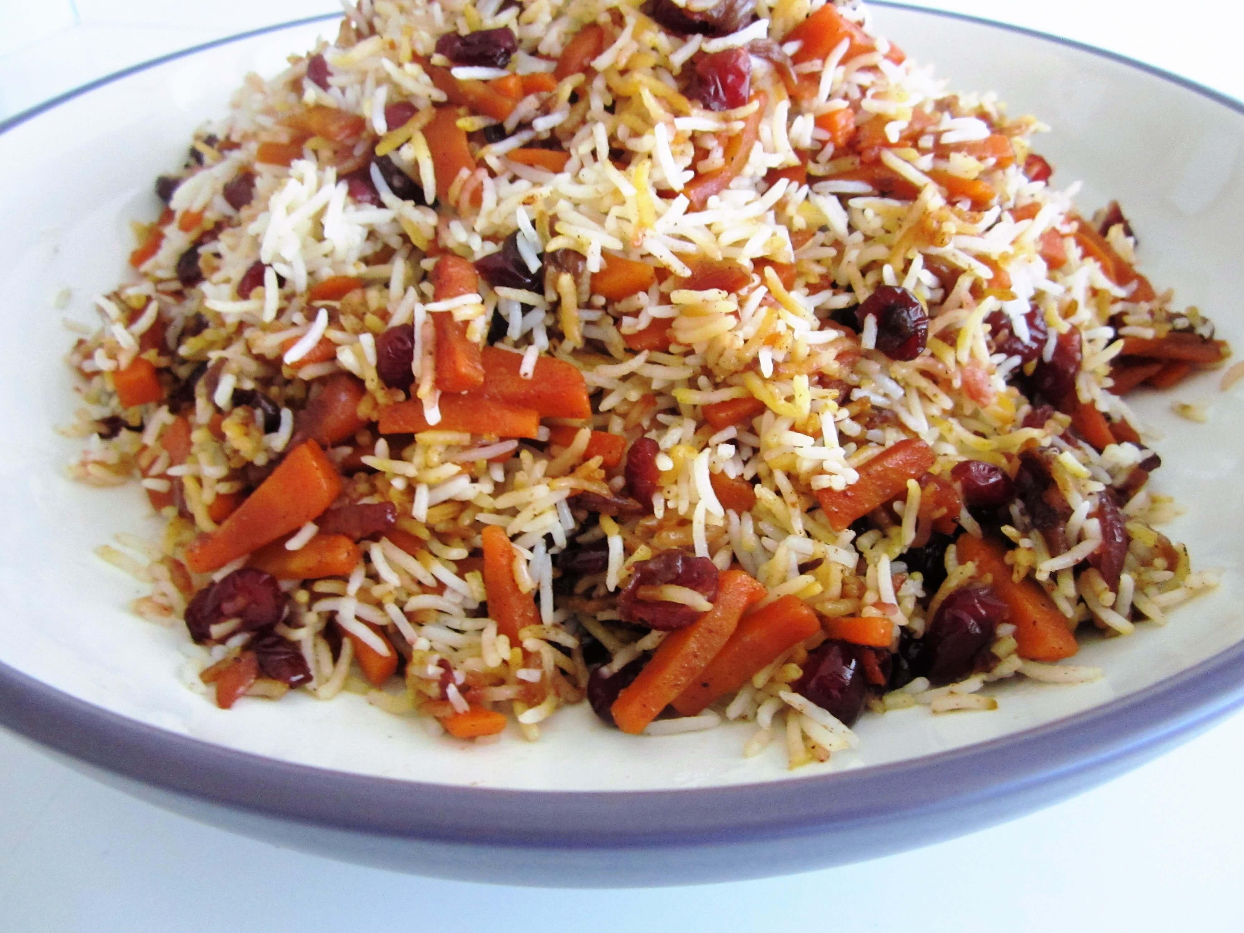 Polo - Havij Polo • هویج پلو • Carrot Rice
