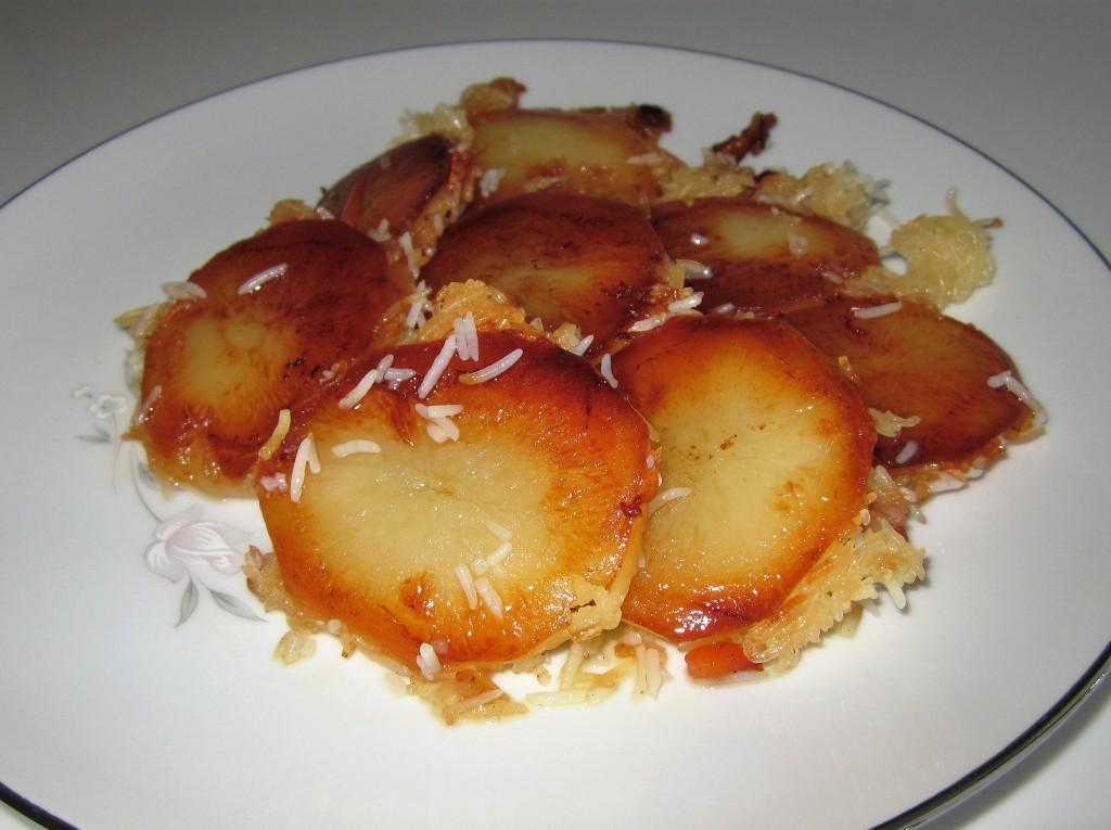 Potato Tah-dig | Fae's Twist & Tango