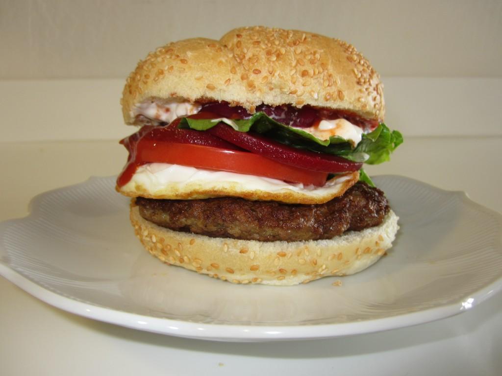McDonald's Serious Lamb Burger | Fae's Twist & Tango
