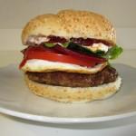 McDonald's Serious Lamb Burger Fae's Twist & Tango