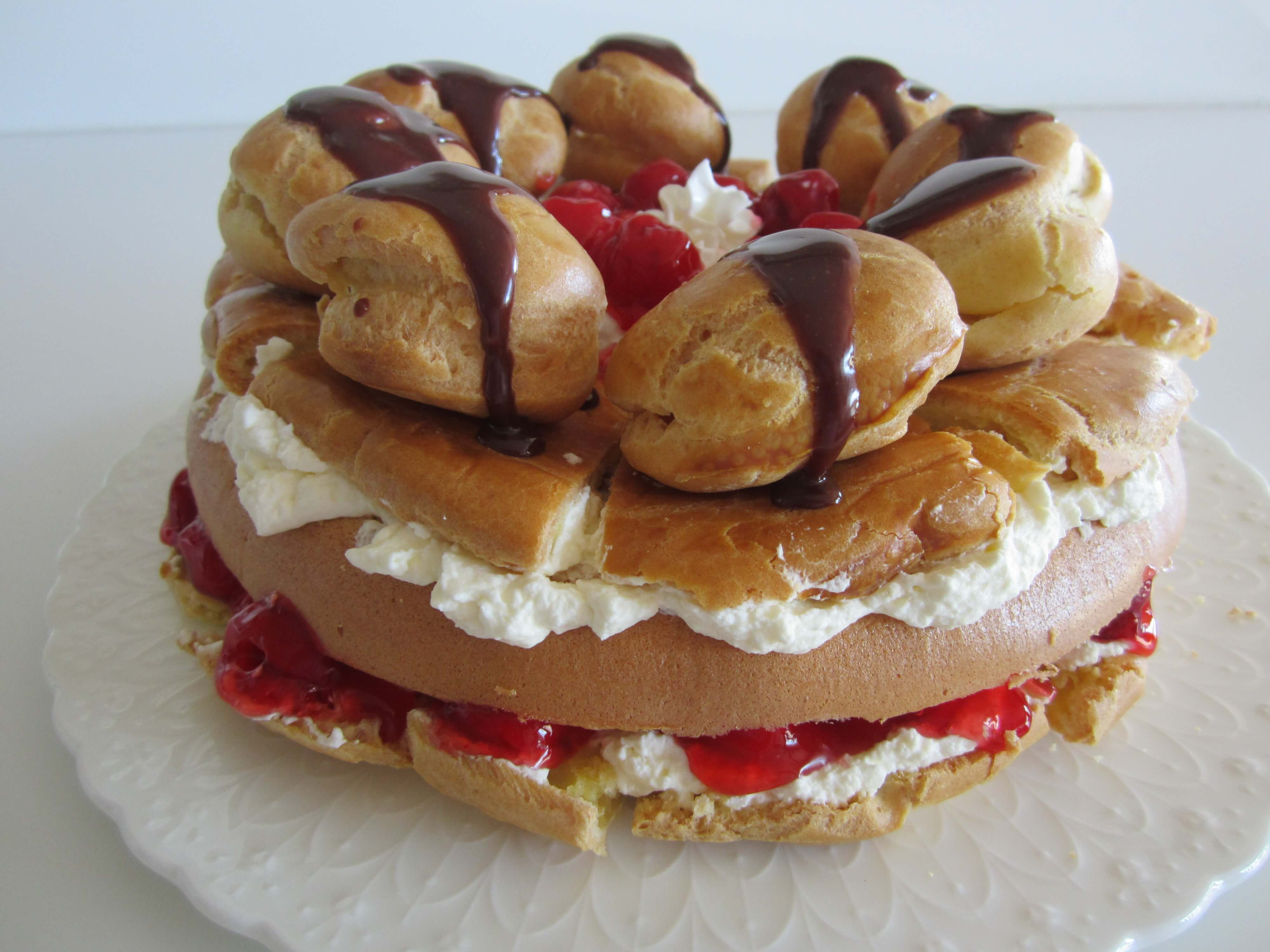 How To Make Cream Puff Cake