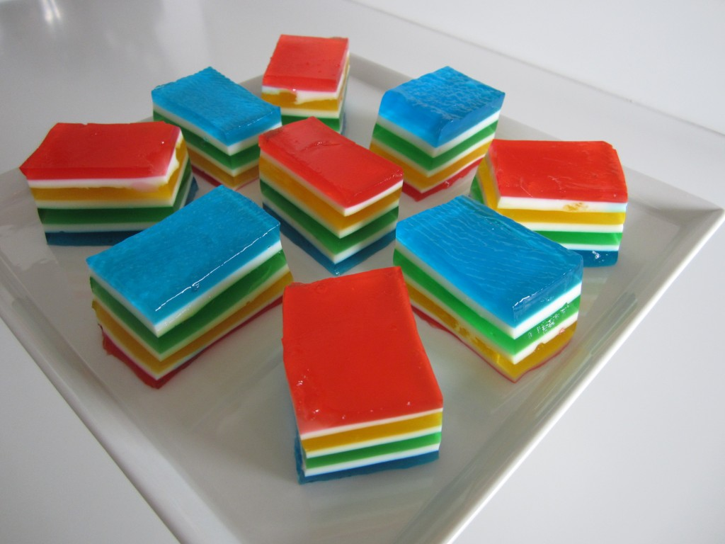 Rainbow Gelatin | Fae's Twist & Tango