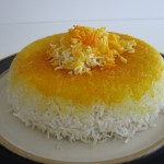 Persian Rice Polo (tah-dig)-