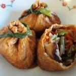Inari Tsume • いなり詰め • Stuffed Fried Tofu Fae's Twist & Tangl