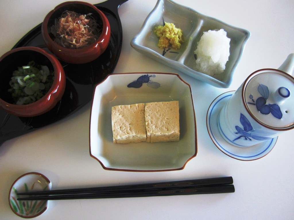 Yudofu • 湯豆腐