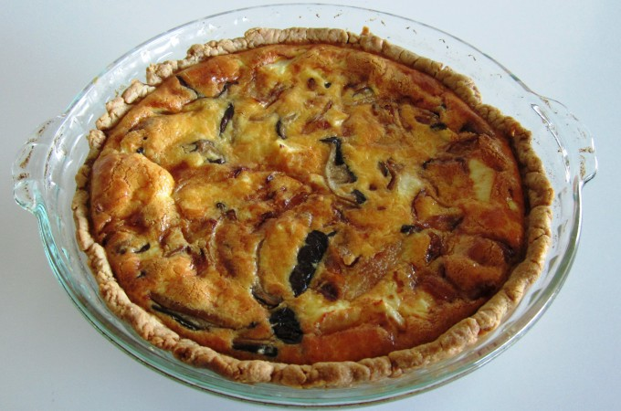 Quiche - Chicken and Mushroom