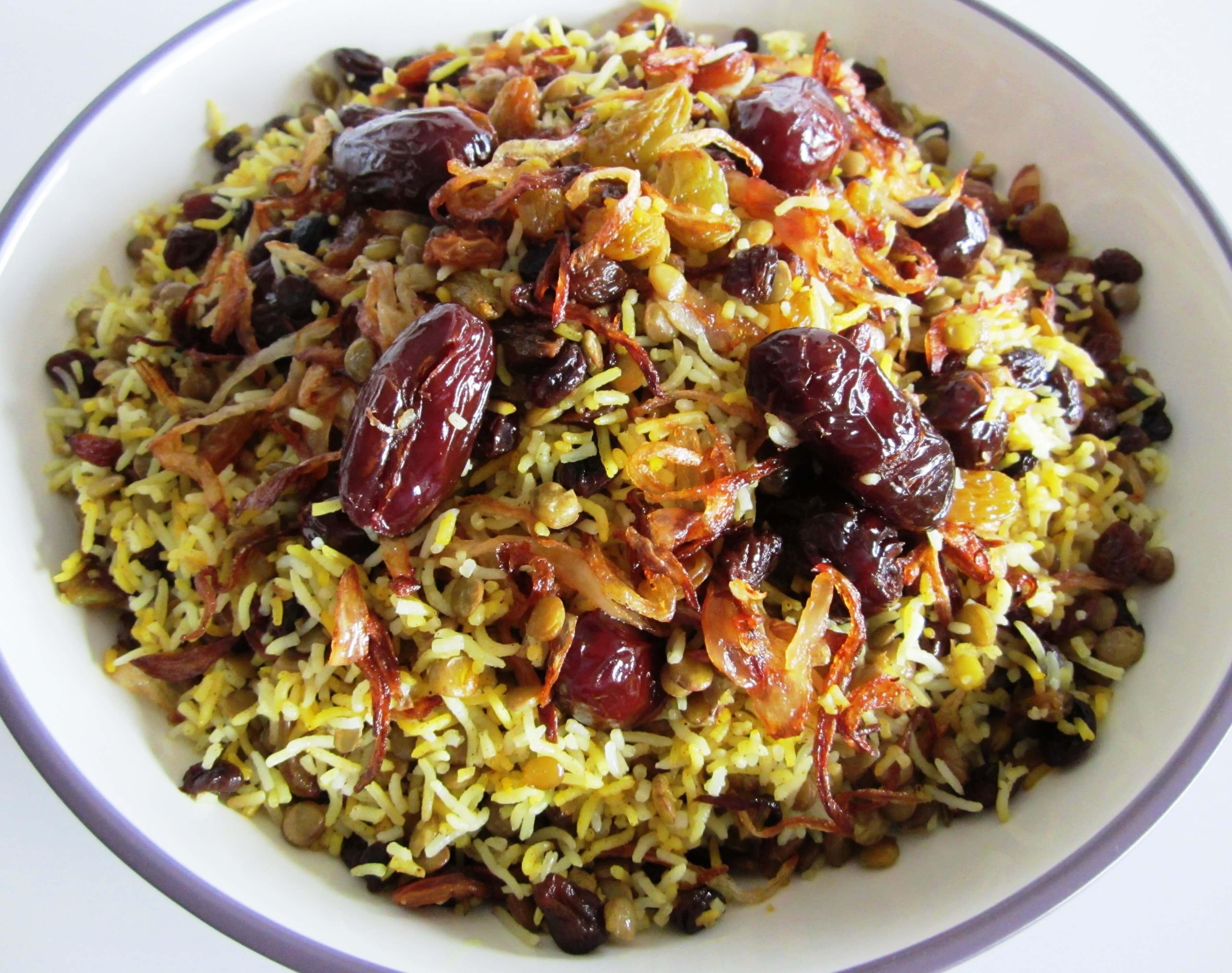 Lentil Rice • Adas Polo • عدس پلو