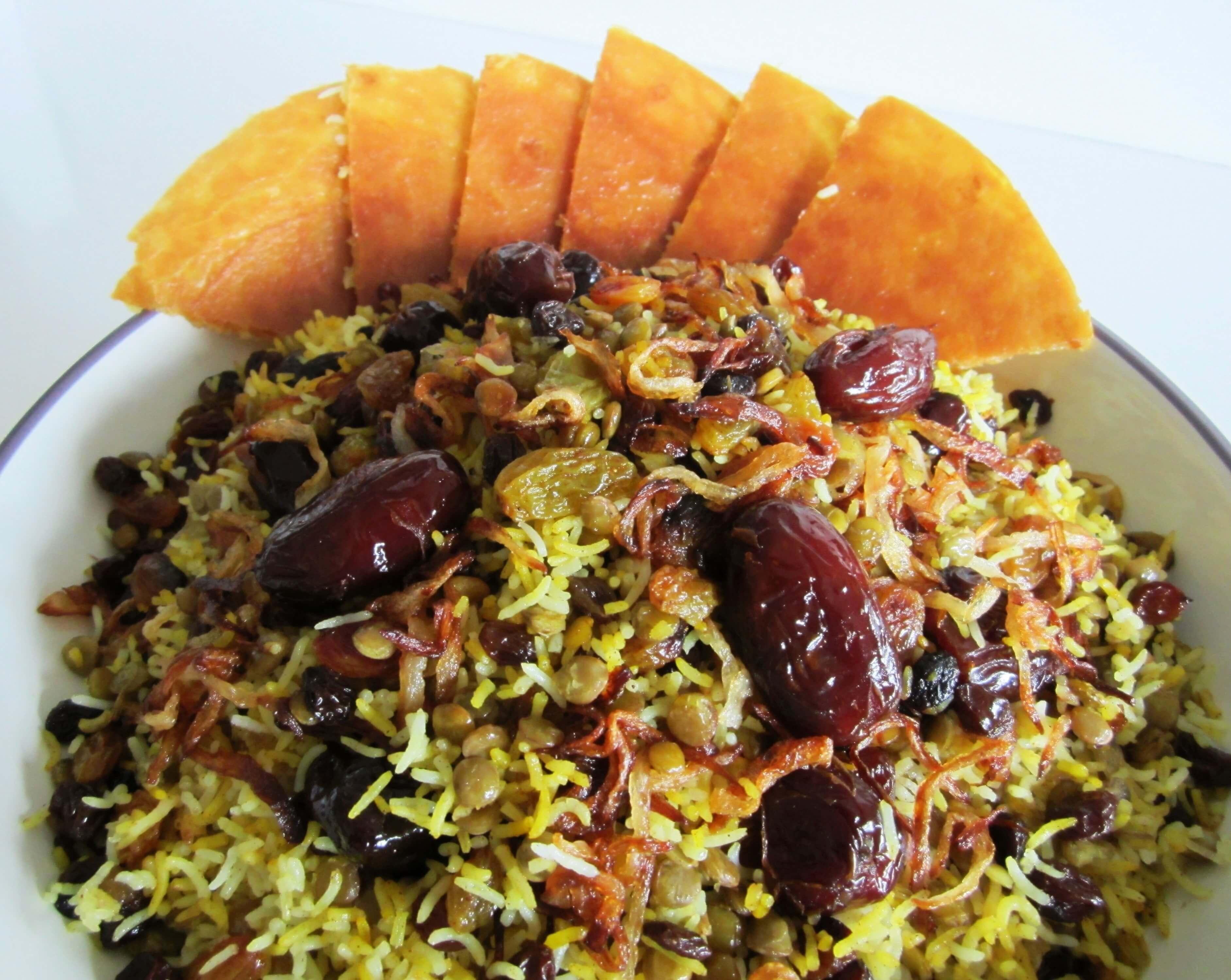 Lentil Rice • Adas Polo • عدس پلو   Fae's Twist & Tango (fae-magazine.com)