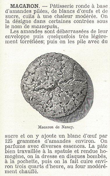 Picture from Dictionnaire encyclopédique de l'épicerie et des industries annexes, by Albert Seigneurie, edited by L'Épicier in 1904, page 431. [Wikipedia]