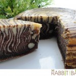 September 12, 2013  Indeed zebras are several species and united by their distinctive black and white stripes, but no two alike. This is another patterned zebra cake!  ~~ Rabbit Can Cook   &   Rabbit Can Bake