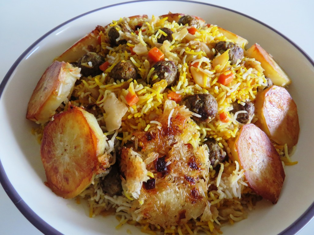Polo kalam polo cabbage rice fae 39 s twist for Ahmads persian cuisine