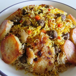 Polo – Kalam Polo • کلم پلو    •   Cabbage Rice