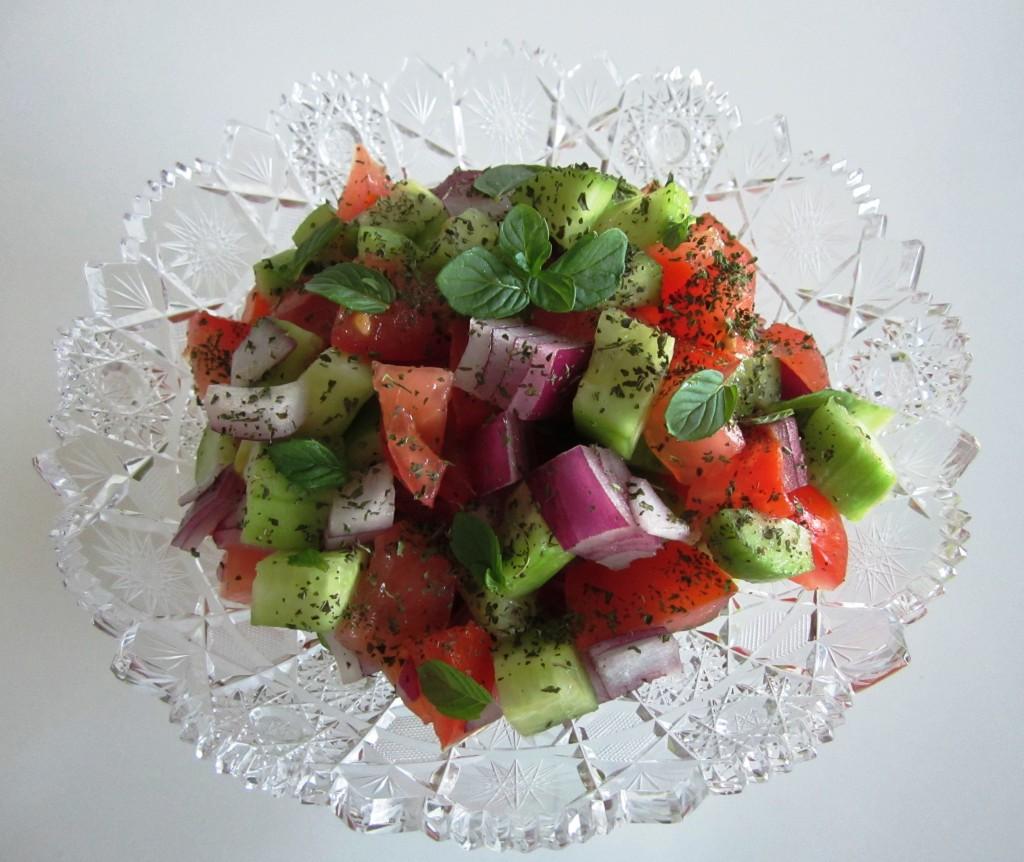 Salad Shirazi • سالاد شیرازی Fae's Twist & Tango