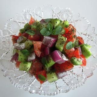 Salad'e Shirazi  •   سالاد شیرازی   •  Shirazi Salad