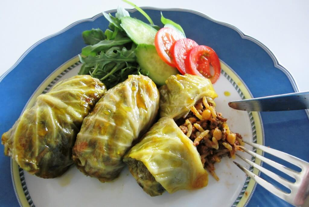 DOLMEH KALAM • دلمه کلم • STUFFED CABBAGE | Fae's Twist & Tango