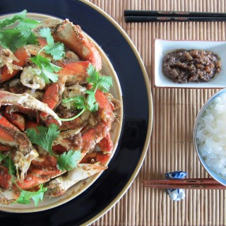 Crab in Black Pepper & Lemongrass Sauce