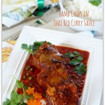 Thai Red Curry Sauce w Lamb Chops(Thailand) - GUEST POST -