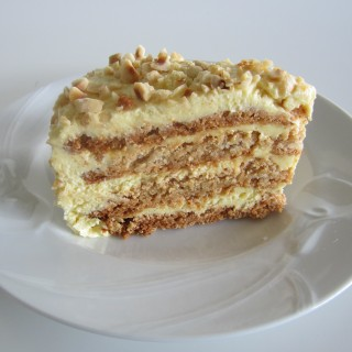 Hazelnut  Dacquoise  with Buttercream