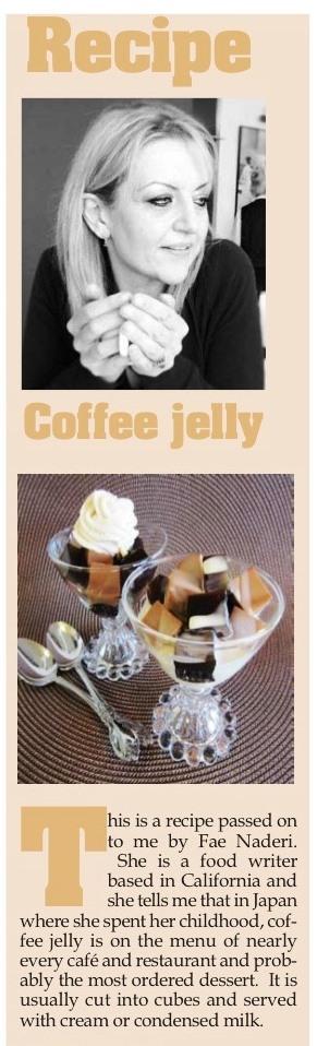 Coffee Jelly - Fae's Twist & Tango