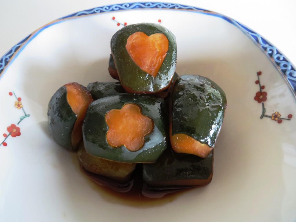 Japanese Simmered Acorn Squash • Kabocha'no Nimono • カボチャの煮物 Fae's Twist & Tango