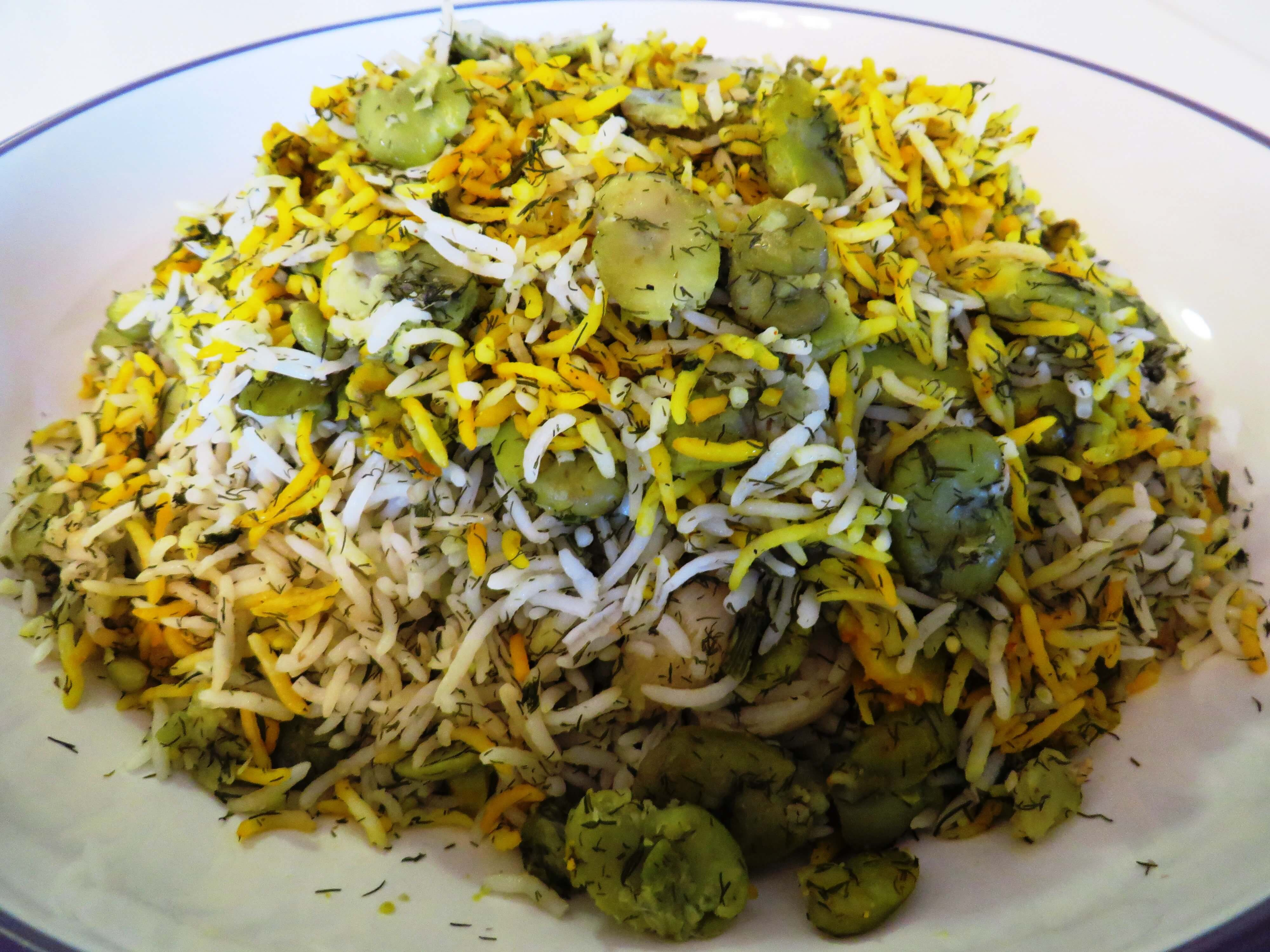 Kitchen Essentials Polo Baghali Polo باقالی پلو Fava Bean Rice Fae S