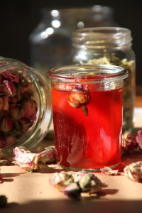 """2015-02-13 Quince: A Love Story """"I recently discovered in a great food blog, another interesting use for quince. It is a Persian recipe for quince preserves with cardamom and rose water. I had to try it!"""" ~ Asmae ofSilly Apron"""