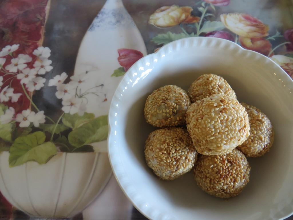 Sesame Balls | Fae's Twist & Tango