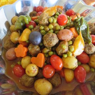 Khorak'e Nokhod-Farangi • خوراکه نخود فرنگی • Green Pea Stew
