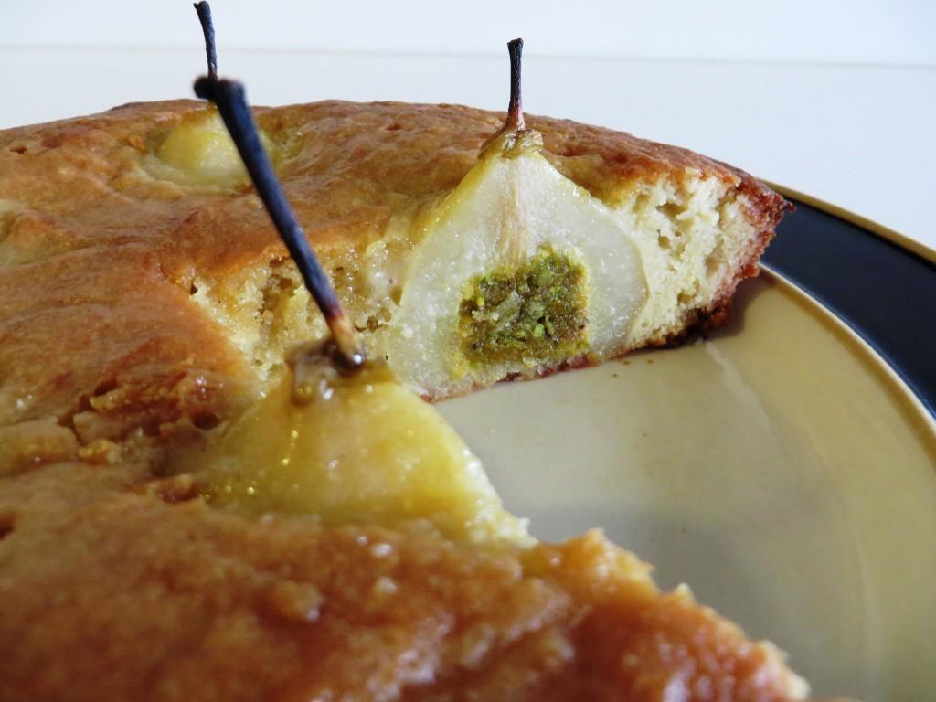 Pears in Almond Cake | Fae's Twist & Tango