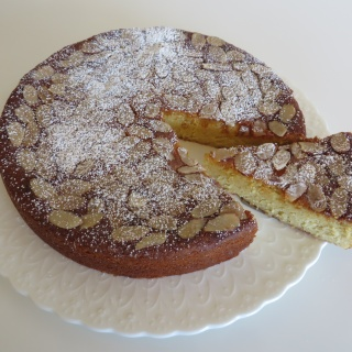 Almond Ricotta Cake (Gluten Free)