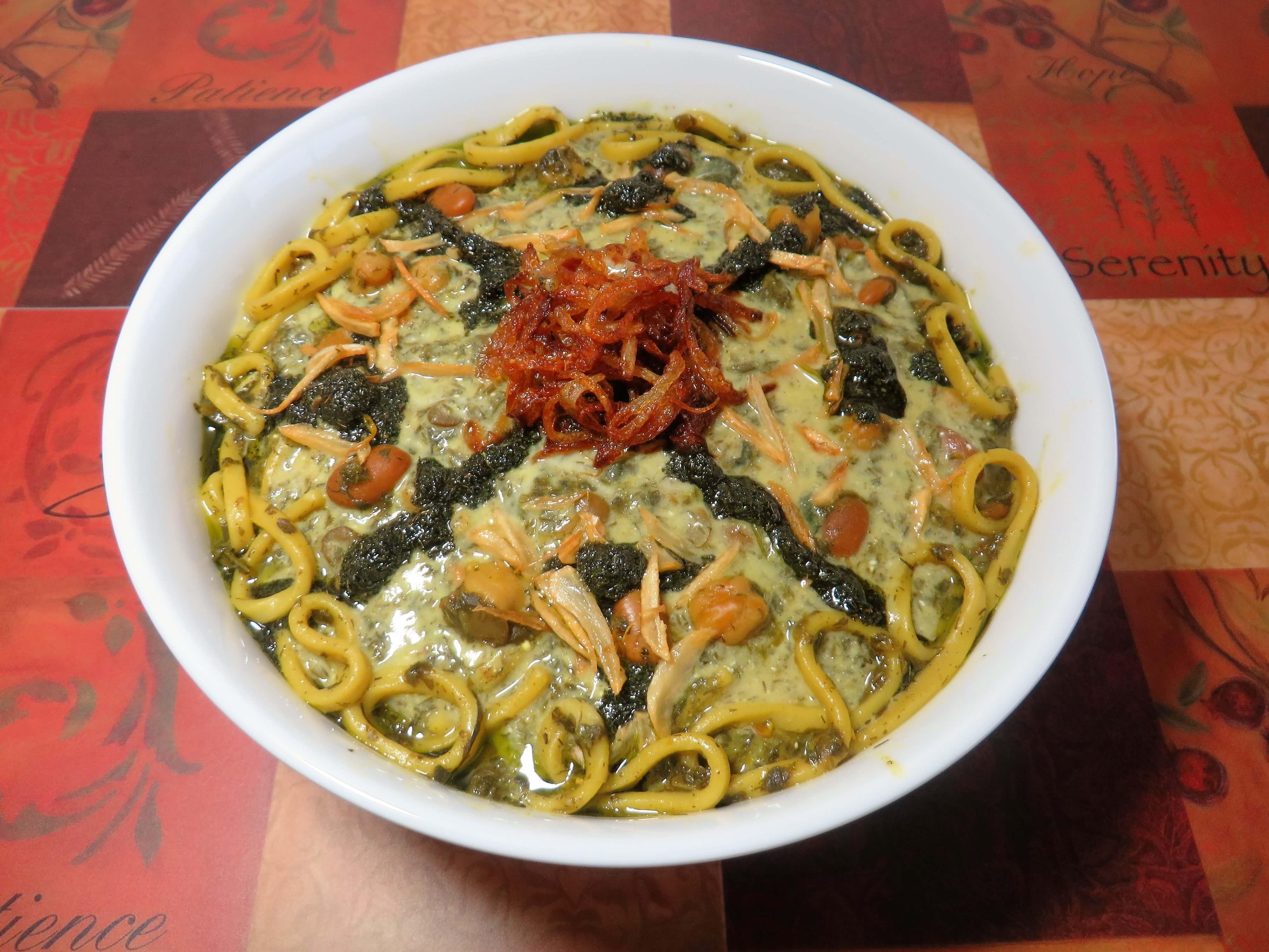Ásh'e Reshteh • آش رشته • Herb Noodles Soup| Fae's Twist & Tango (fae-magazine.com)