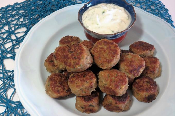 Turkey Meatballs with Tzatziki | Fae's Twist & Tango (fae-magazine.com)